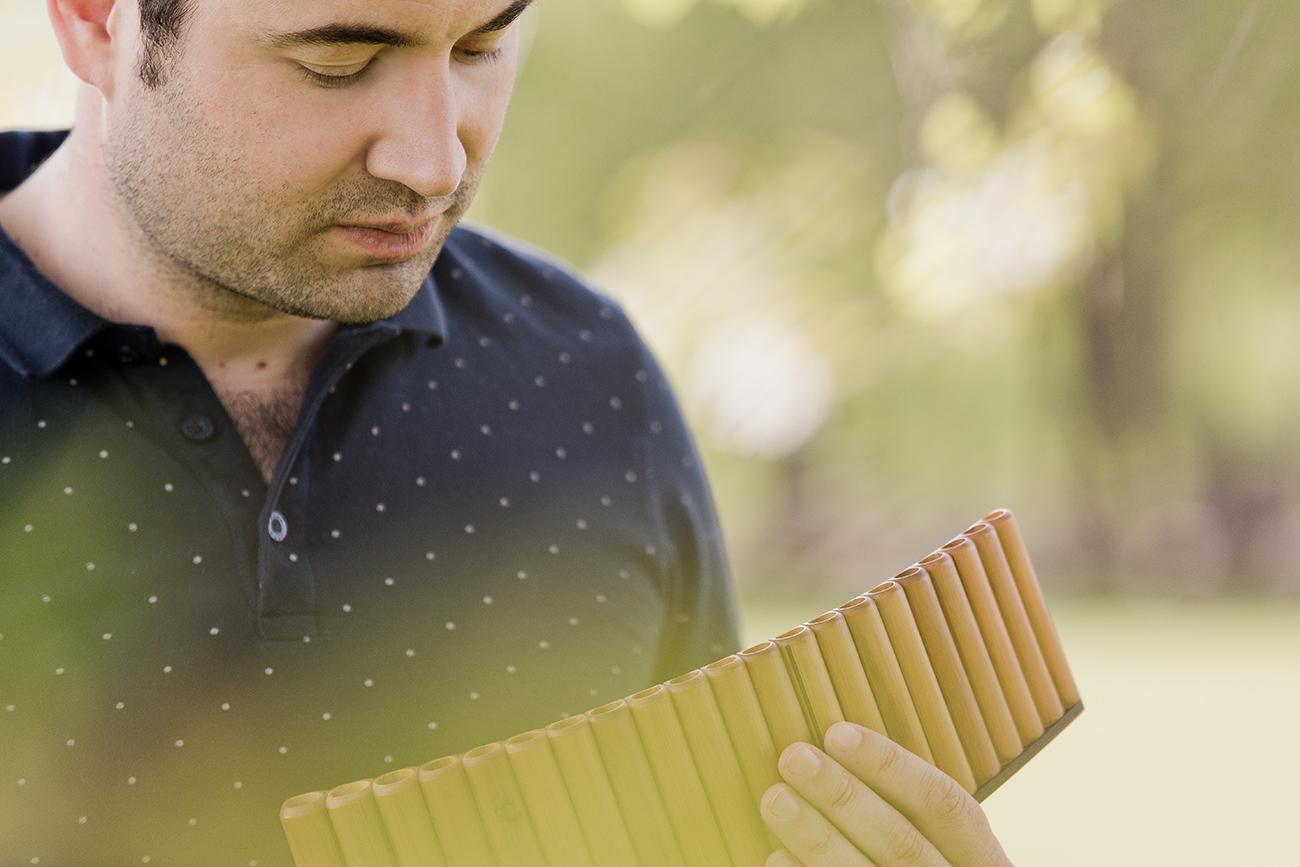 Telemann und Vivaldi für Panflöte und Orchester